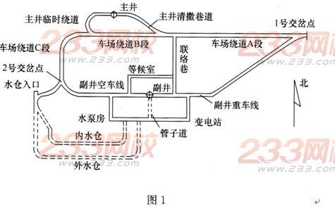 井筒施工信号机电路图