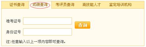 2015年11月吉林省秘书证成绩查询网址