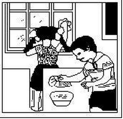 小学一年级看图写话图片和范文(3)