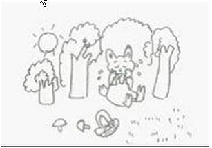 小学一年级看图写话图片和范文 5