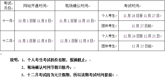 2016年9、10月惠州市属会计从业资格考试报名安排