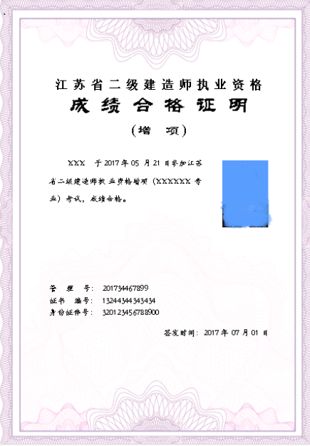 二级建造师证书怎么考图片