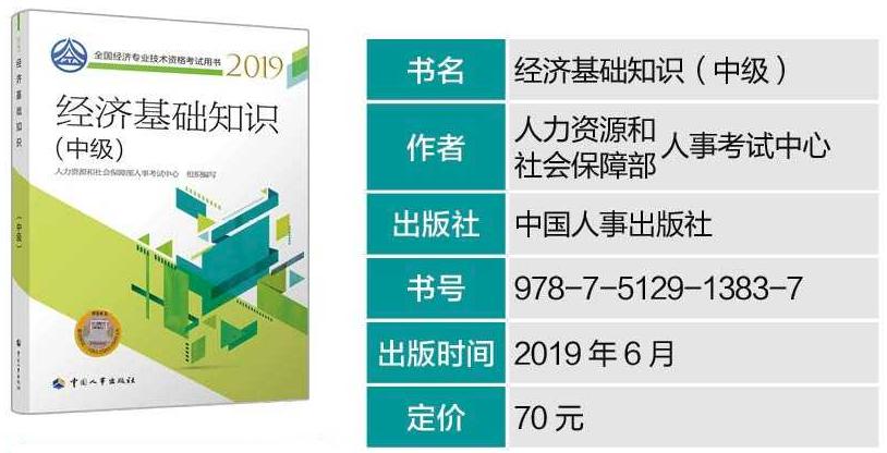 中级经济师考试用书2019图片