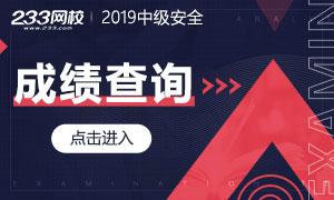 2019年注册安全工程师成绩查询时间